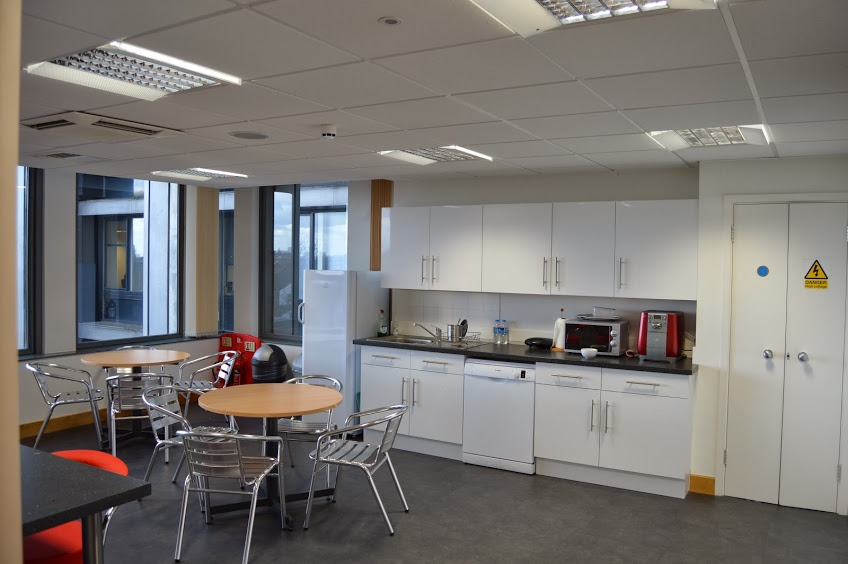 Fit out for an office relocation, Croydon, Surrey