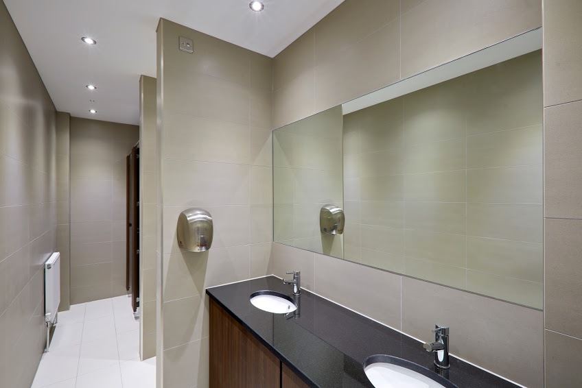Washroom refurbishment, Chessington, Surrey