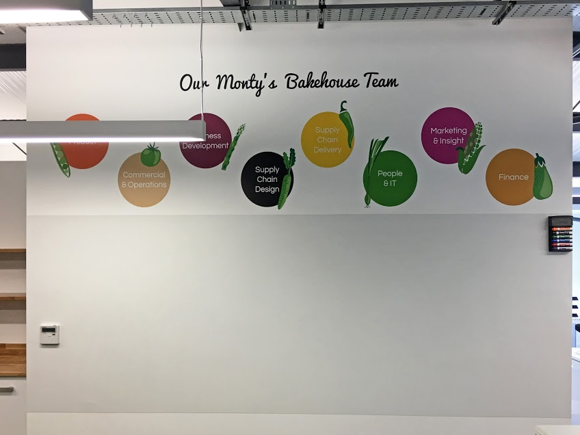 Monty's Bakehouse, Office Relocation, Surrey