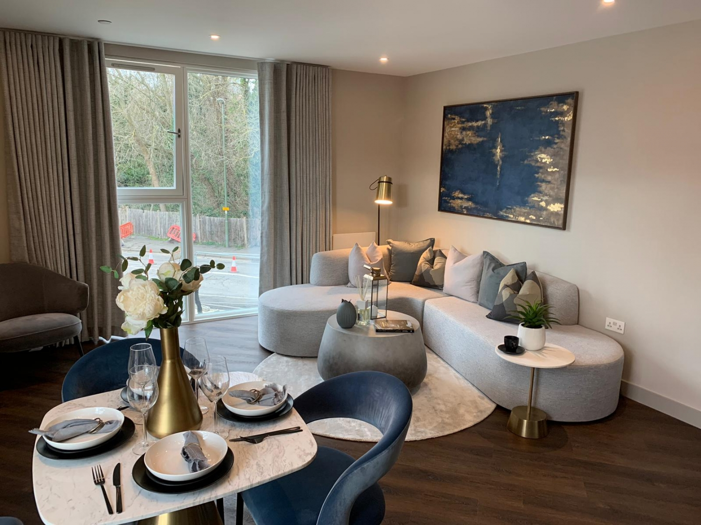Staines Dev Living and Dining Area