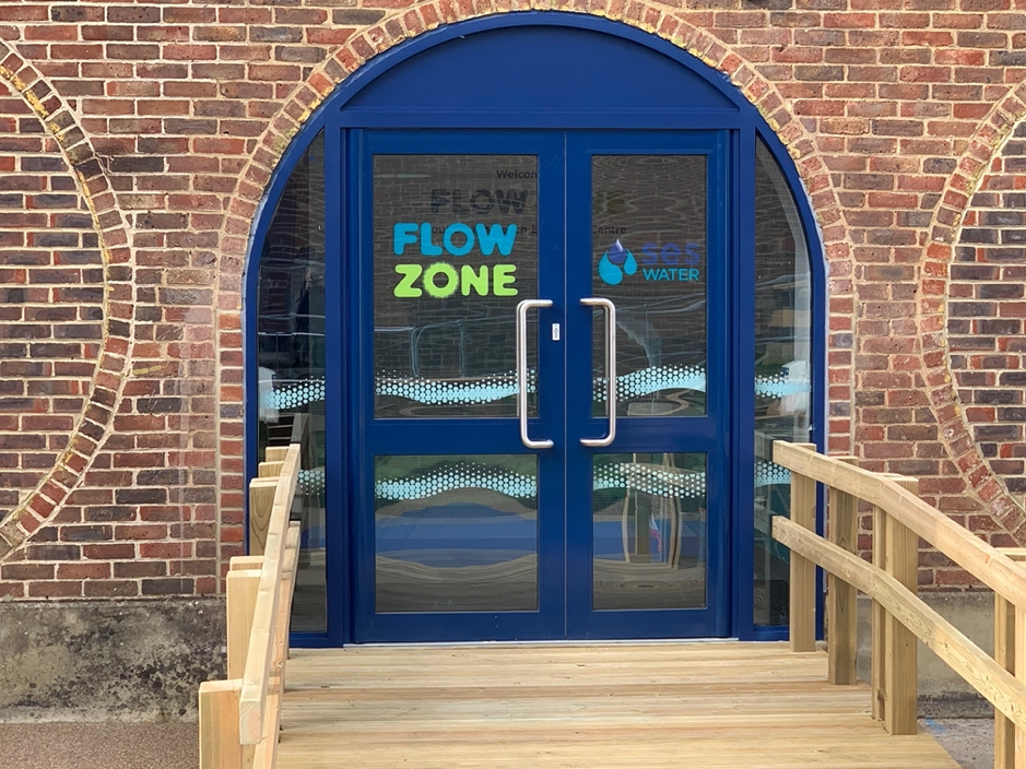 Flow Zone Building Entry