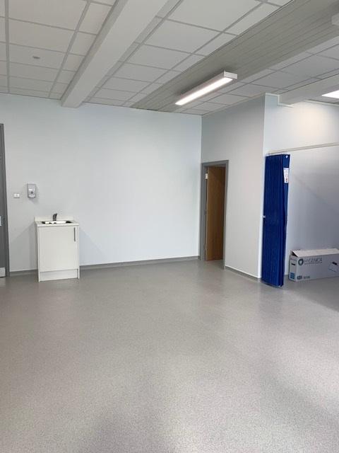 Nescot Sluice Room 2021