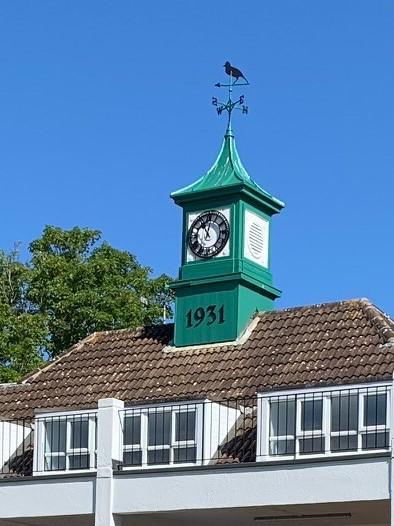 Restored 1931 Clock Tower