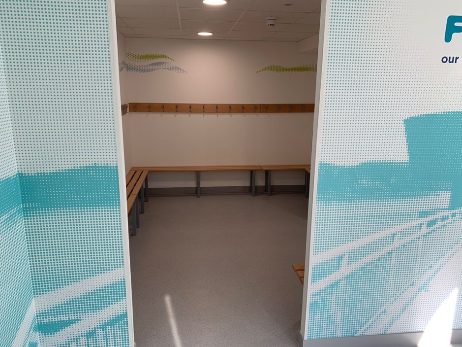 SESW Changing rooms