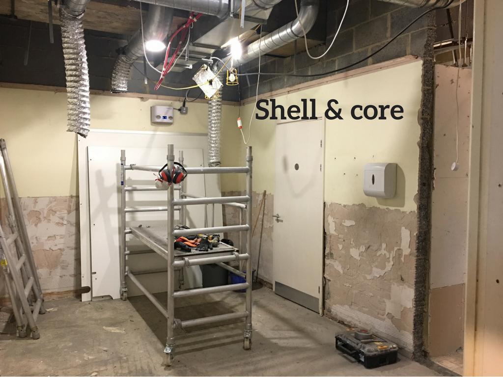 Shell & core