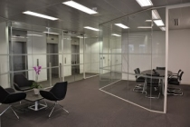 Griffin meeting space and office