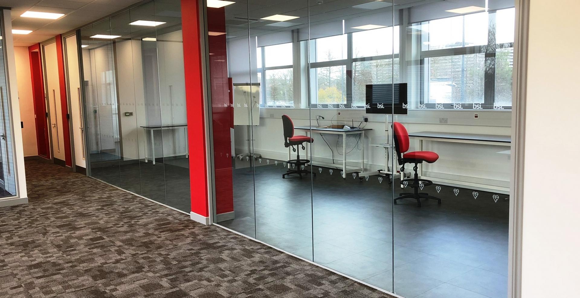 Office Refurbishment Bsi Group Hemel Hempstead