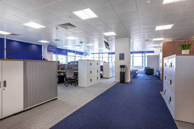 Newly refurbished head office at medica group, hastings