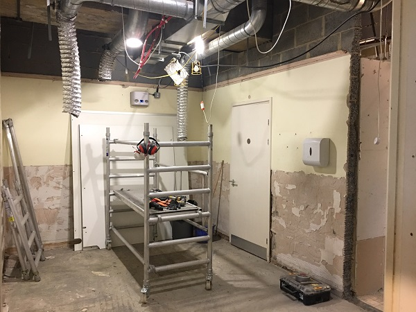 Staff breakout, kitchen & toilets refurbishment, Redhill, Surrey