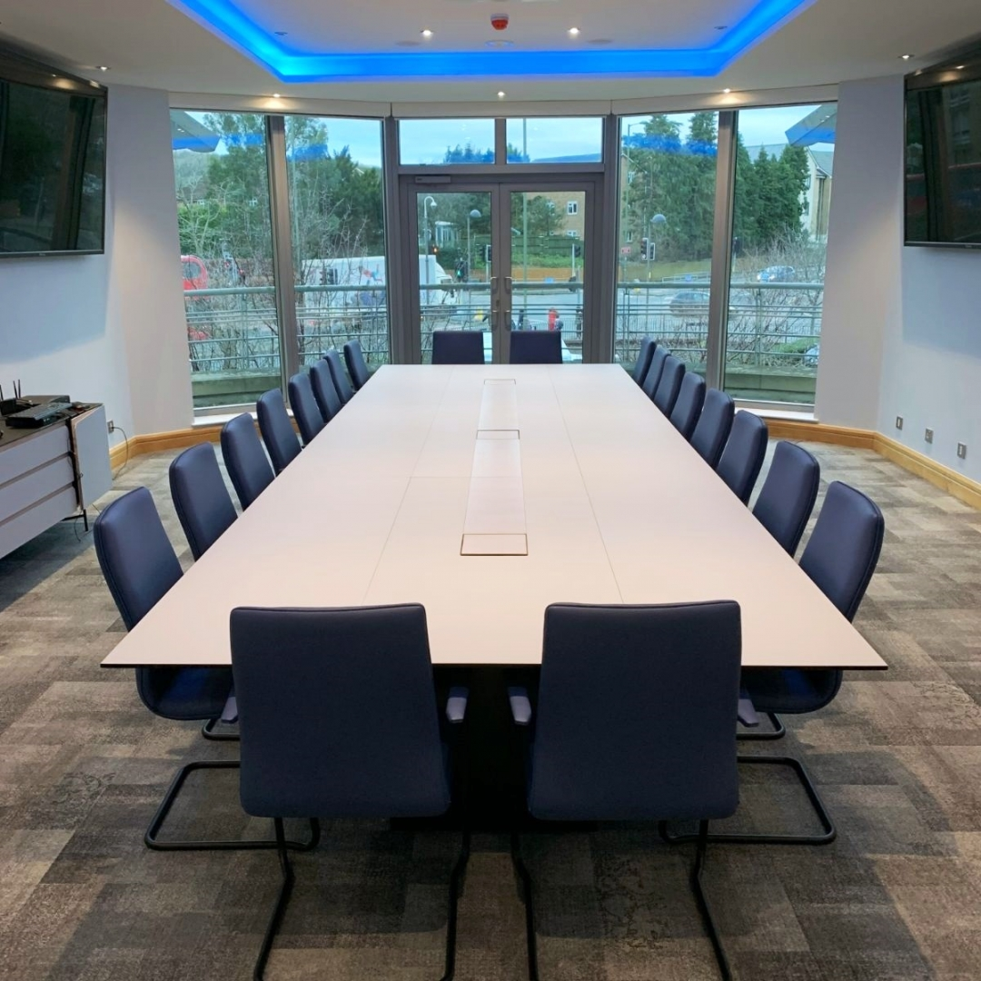 Refurbished boardroom for SES Water PLC