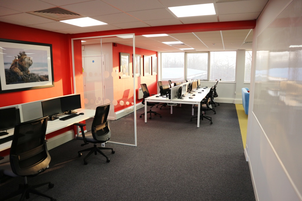 Office design and refurbishment