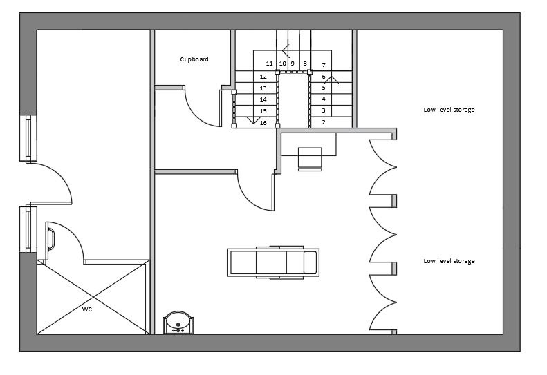 Space Plan for New Clinic Layout