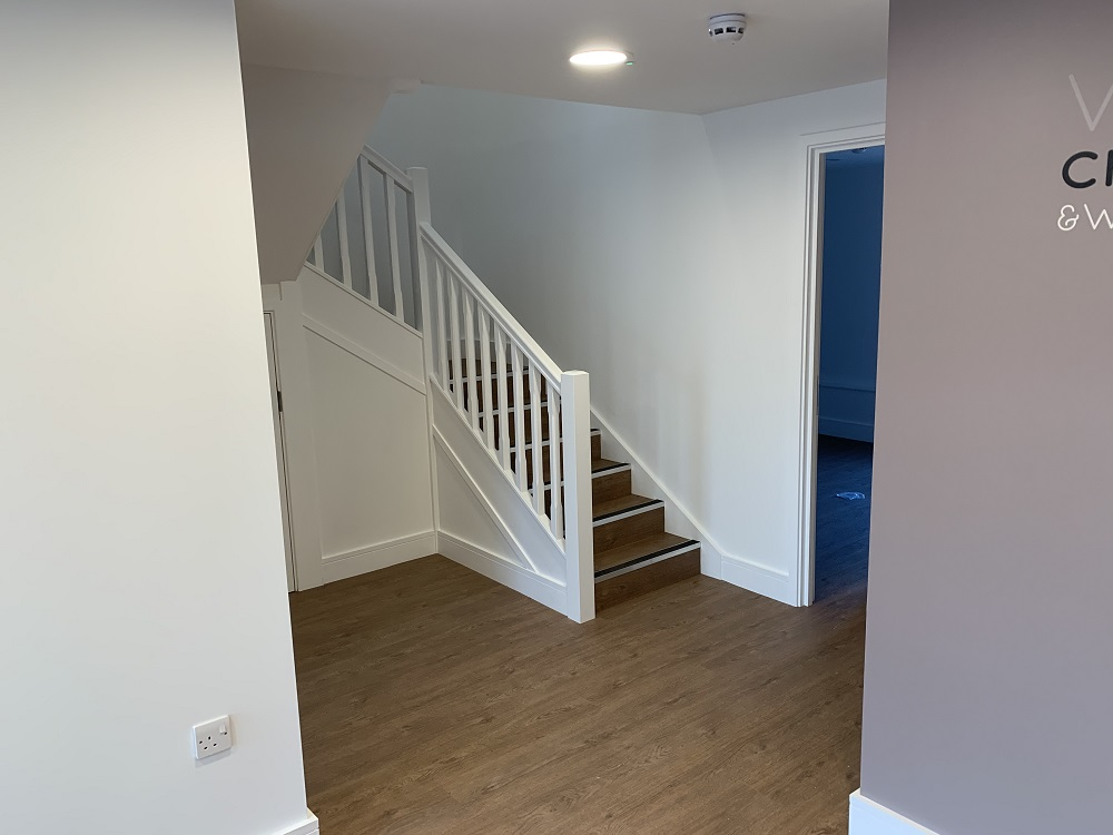 Chiropractic clinic new premises after fit out
