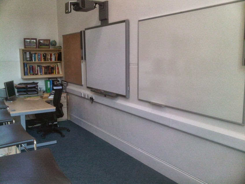 Modern refurbishment for school class-rooms
