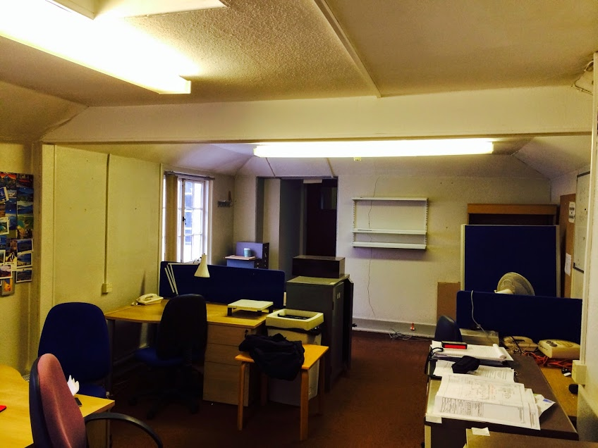 Staff office refurbishment, Kingston Uni,Surrey